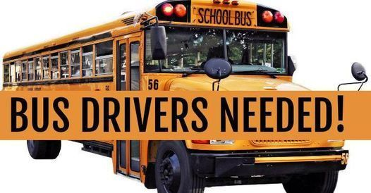 BUS DRIVER NEEDED BUS