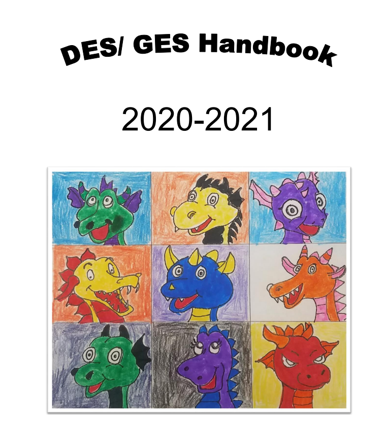 cover of elementary school handbook