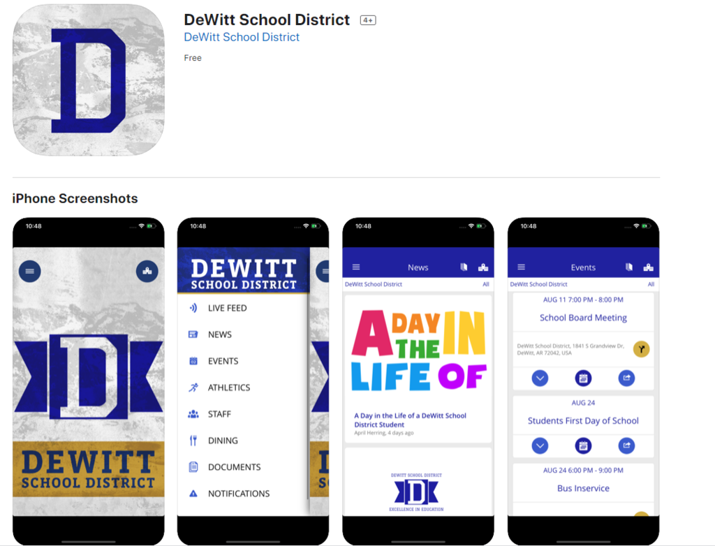 new school district app