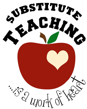 substitute teaching clip art